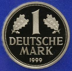 Münze > 1Mark, 1999 - Deutschland  - reverse