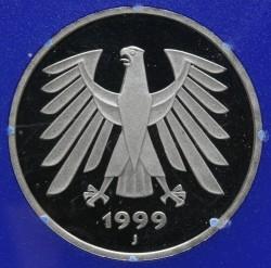 Münze > 5Mark, 1999 - Deutschland  - obverse