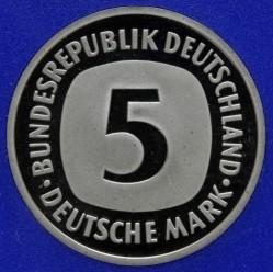 Münze > 5Mark, 1999 - Deutschland  - reverse
