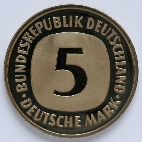 5 Mark 1975 2001 Deutschland Münzen Wert Ucoinnet