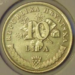 Münze > 10Lipa, 1994-2018 - Kroatien   - reverse