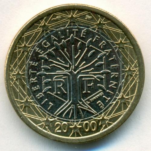 1 Euro 1999 2006 Frankreich Münzen Wert Ucoinnet