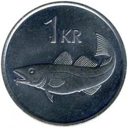 Pièce > 1couronne, 1981-1987 - Islande  - reverse
