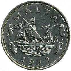 Minca > 10cents, 1972-1981 - Malta  - obverse
