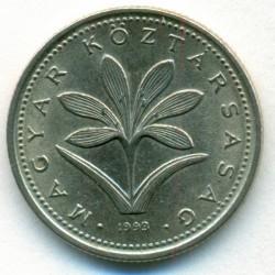 Moneda > 2florines, 1992-2008 - Hungría  - obverse
