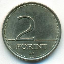 Moneda > 2florines, 1992-2008 - Hungría  - reverse