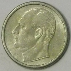 Mynt > 25 ore, 1958 - Norge  - reverse