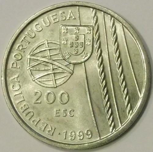 200 эскудо 1999 португалия