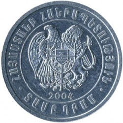 Moeda > 10drames, 2004 - Armênia  - reverse