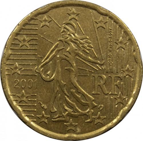 20 Eurocent 1999 2006 Frankreich Münzen Wert Ucoinnet