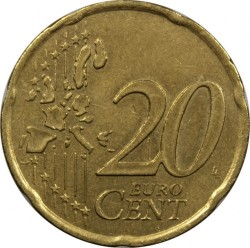 Coin > 20eurocent, 1999-2006 - France  - obverse