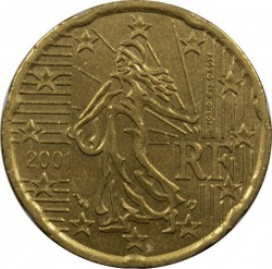 Coin > 20eurocent, 1999-2006 - France  - reverse