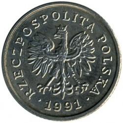 מטבע > 50גרושי, 1990-2016 - פולין  - obverse