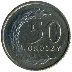 מטבע > 50גרושי, 1990-2016 - פולין  - reverse