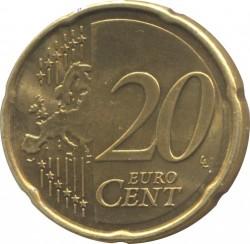 Монета > 20цента, 2011-2018 - Естония  - reverse