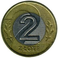 Moneta > 2zlote, 1994-2017 - Polonia  - obverse