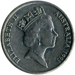 Moneta > 10centų, 1985-1998 - Australija  - obverse