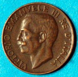 Moneta > 5centesimi, 1919-1937 - Italia  - obverse