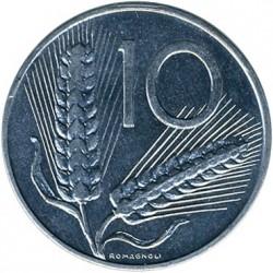 سکه > 10لیره, 1991 - ایتالیا  - reverse