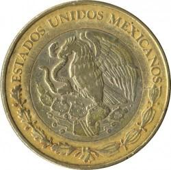 Coin > 10pesos, 1998 - Mexico  - reverse