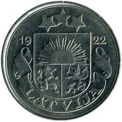 מטבע > 50סנטים, 1922 - לטביה  - obverse