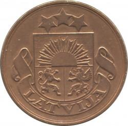 מטבע > 5סנטים, 1922 - לטביה  - obverse