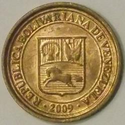 Münze > 5Centimos, 2007-2009 - Venezuela  - reverse