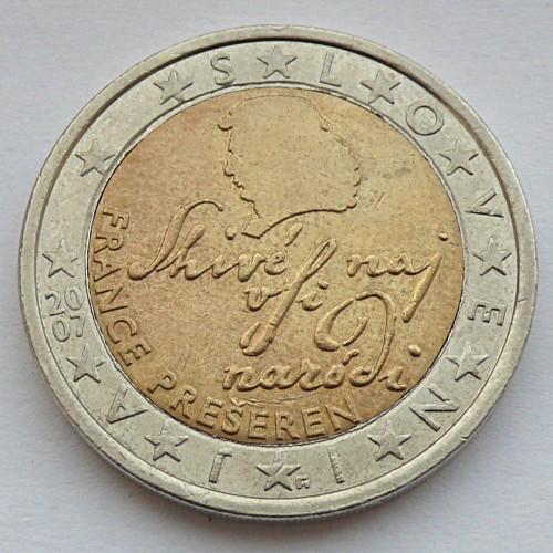 2 Euro 2007 2018 Slowenien Münzen Wert Ucoinnet