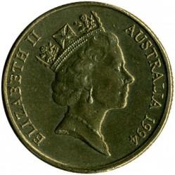 سکه > 1دلار, 1985-1998 - استرالیا  - obverse