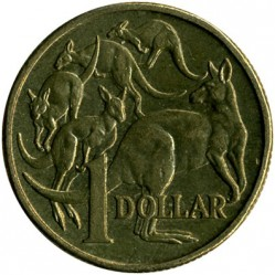 سکه > 1دلار, 1985-1998 - استرالیا  - reverse