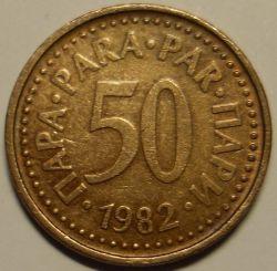 Münze > 50Para, 1982-1984 - Jugoslawien  - reverse