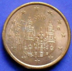 Coin > 1cent, 2010 - Spain  - reverse