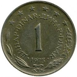 Νόμισμα > 1Δηνάριο, 1973-1981 - Γιουγκοσλαβία  - reverse