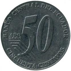 سکه > 50سنتاوو, 2000 - اکوادور  - reverse