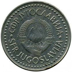 錢幣 > 100第納爾, 1985-1988 - 南斯拉夫  - reverse