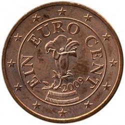 Coin > 1cent, 2002-2017 - Austria  - obverse