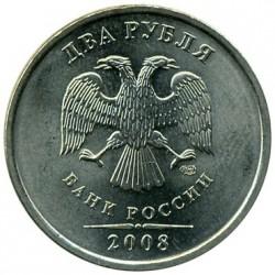 Munt > 2rubles, 2002-2009 - Rusland  - obverse