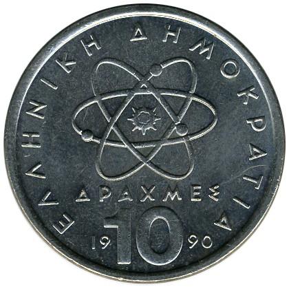 10 Drachmen 1982 2002 Griechenland Münzen Wert Ucoinnet