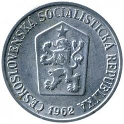 Moneda > 10hellers, 1961-1971 - Checoslovaquia  - obverse