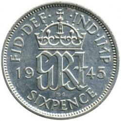 錢幣 > 6便士, 1937-1946 - 英國  - reverse