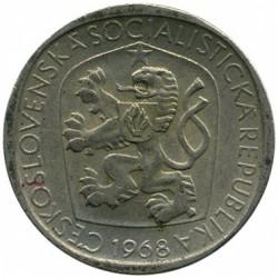 Moneda > 3koruny, 1965-1969 - Txecoslovàquia  - obverse