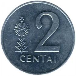 錢幣 > 2分, 1991 - 立陶宛  - reverse