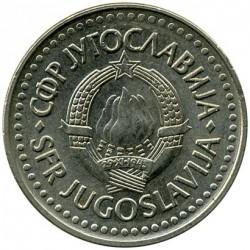 Moeda > 2dinara, 1990-1992 - Iugoslávia  - obverse