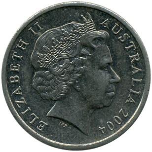 AUSTRALIA   5 Cents  2004  *
