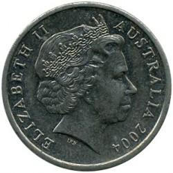 Moneda > 5centavos, 1999-2018 - Australia  - obverse