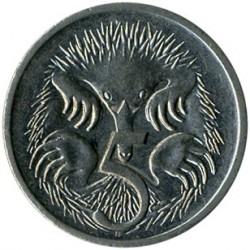 Moneda > 5centavos, 1999-2019 - Australia  - reverse
