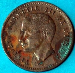 Νόμισμα > 2Σεντέσιμι, 1903-1908 - Ιταλία  - obverse