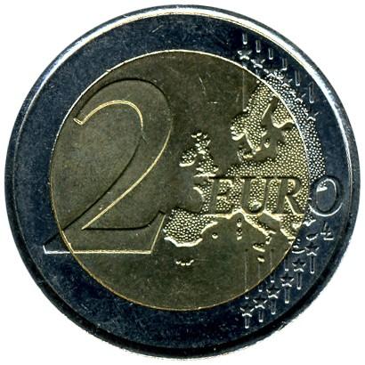 2 Euro 2010 General De Gaulles Appell Frankreich Münzen Wert