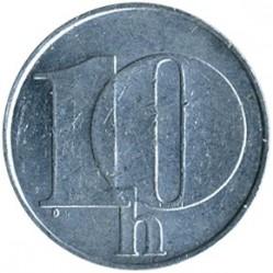 Moneta > 10halerzy, 1991-1992 - Czechosłowacja  - obverse