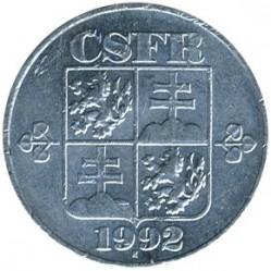 Moneta > 10halerzy, 1991-1992 - Czechosłowacja  - reverse
